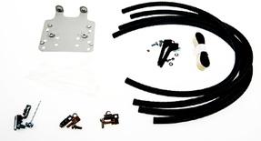 Комплект FIST-GSS2 для терминирования кабеля с тыльной стороны панели FIST, цвет: серый