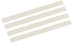 Маркировочные иконки PATCHMAX® L2300 Icons, цвет: белый