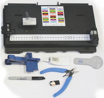 Комплект инструмента для монтажа разъёмов Qwik MPO