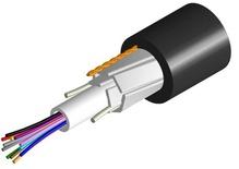 Оптический кабель Arid Core® Drop Cable, волокон: 2, Тип волокна: ОМ3 LazrSPEED® 300, конструкция: общая трубка 2 мм c гелем с усилением 2 стержнями ARP и пластинами из фибергласа, изоляция: LSZH UV stabilized, EuroClass: Dca, диаметр: 6,1 мм, -20 - +70 град., Цвет: чёрный