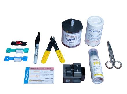 Комплект инструмента для монтажа разъёмов Qwik II в комплектации Basic