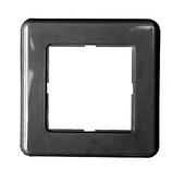 Рамка DIN 80х80/50х50 мм, Цвет: чёрный (RAL 9005)