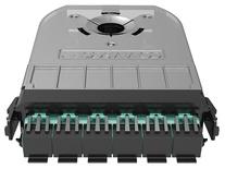 Кассета 360 G2 3хSC Duplex, OM4 LazrSPEED® 550 с пигтейлами, цвет пигтейлов: A, цвет: бирюзовый