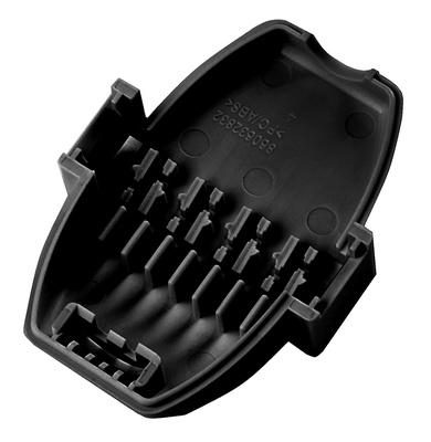 Соединитель CEILING CONNECTOR ASSEMBLY 110/110 Cat.6/6A, 26-22 AWG, проводник: solid/stranded, цвет: чёрный