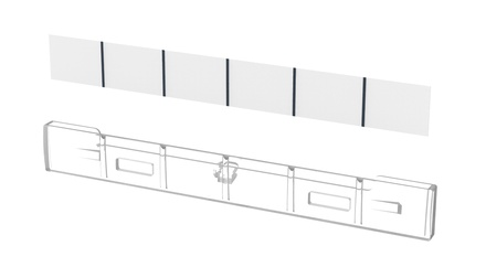 Universal Label HolderKIT- DDM panel (4pcs)
