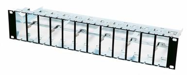 Коммутационная панель AMP CO™ Ultra High Density 24 порта, высота: 2RU, цвет: чёрный (RAL 9005)