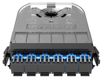 Кассета 360 G2 3хSC Duplex, SM TeraSPEED®, с пигтейлами, цвет пигтейлов: A, цвет: синий