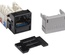 Гнездо RJ45 серии GigaSPEED X10D® MGS600, Cat.6A UTP, цвет: чёрный, эко уп-ка шт.: 24
