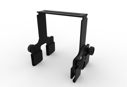 FiberGuide® 6in Horizontal Tool-less Bracket Kit for 2x6, 4x4 and 4x6in Systems, Kit of 40