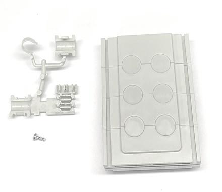 Комплект для герметизации кабельного ввода в бокс BUDI 24 mini breacout кабелей диаметром до 8,2 mm