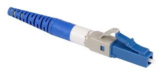 Бесклеевоё разъём Qwik-Fuse, Интерфейс: LC, Волокно: SM-UPC, на кабель 1.6/2.0 mm, Цвет: Синий, уп-ка: 12