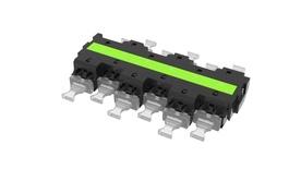 Адаптерная планка CHD OM5 6xLC Duplex, Цвет: lime