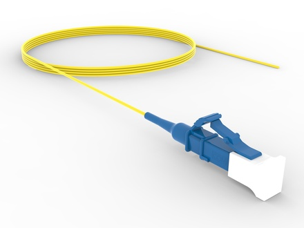 LC-полушнур TeraSPEED®, Тип волокна: OS2 G.652.D and G.657.A1, Буфер: плотный, цвет разъёма: Синий, Длина м.: 1.5