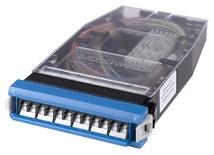 Кассета G2 SM 6хLC Duplex с держателем сплайсов, с пигтейлами, цвет: синий