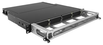 Выдвижная коммутационная панель Systimax High Density 1RU iPatch® ready для установки до 4 модулей G2, с фронтальным кабельным органайзером, до 48 LC Duplex или до 32 MPO