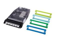 Кассета G2 6хLC Duplex с держателем сплайсов, без пигтейлов, цвет: бирюзовый/blue/green/lime